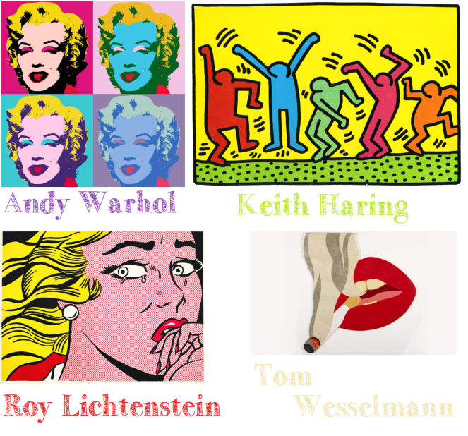 art pop art amerique