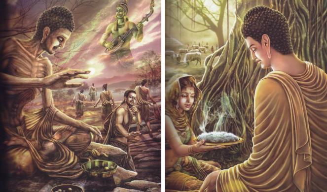 bouddha affamé