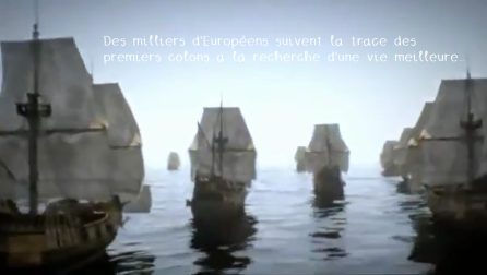 europeens suivent la trace des colons