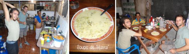 soupe de hava